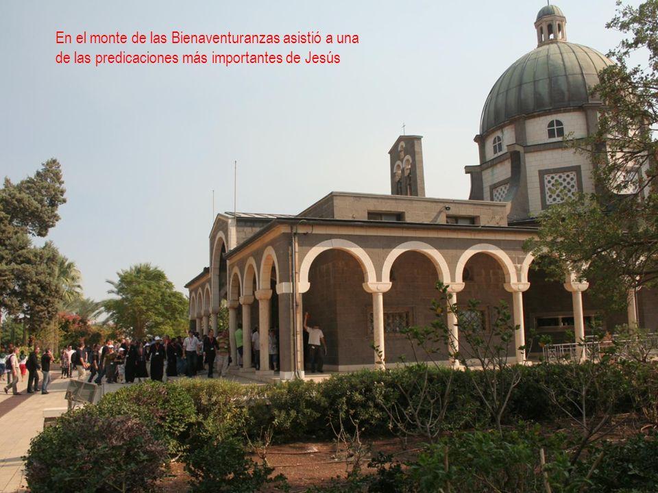 Basílica de los panes y los peces, donde Jesús realizó uno de sus más importantes milagros