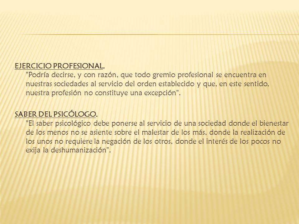 EJERCICIO PROFESIONAL.