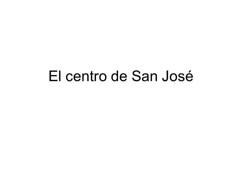 El centro de San José