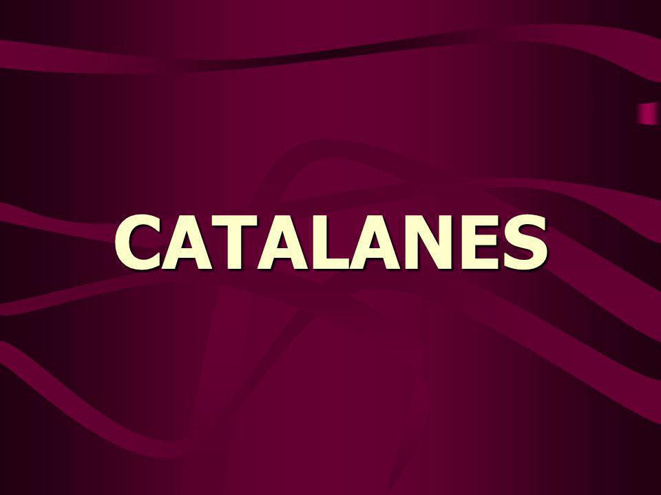 Estaba una familia de catalanes reunida ante el féretro del padre recién fallecido.
