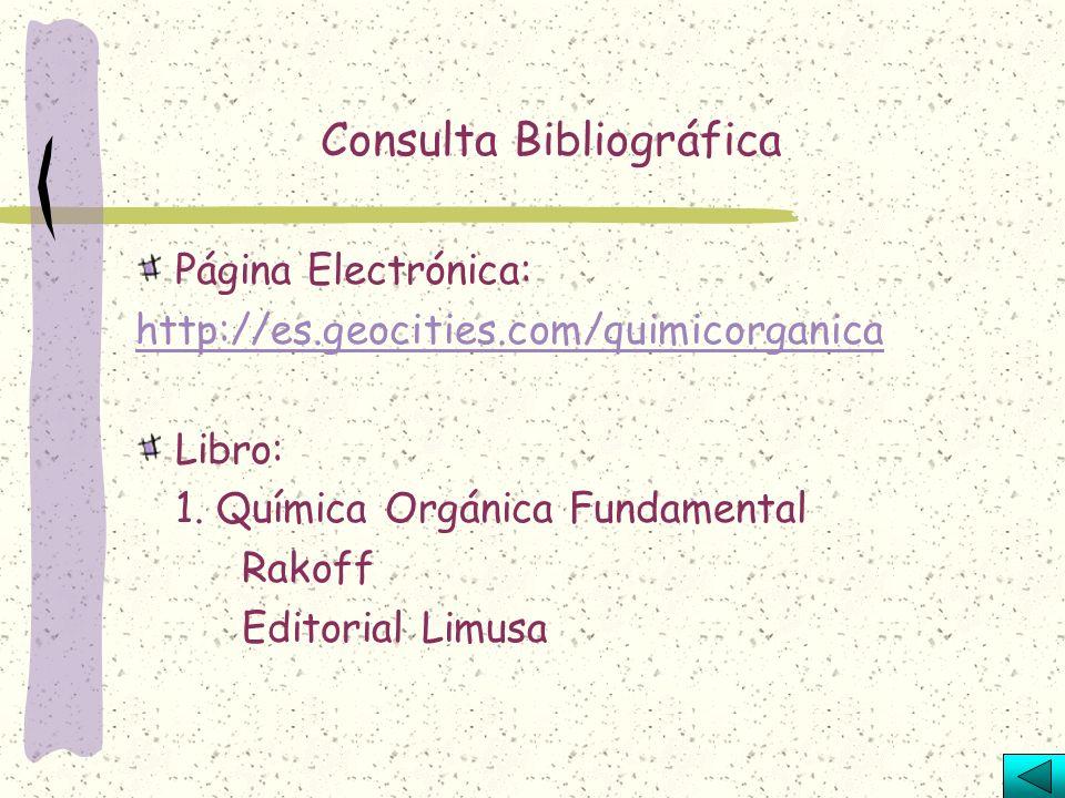 Escriba el nombre correcto de los siguientes compuestos orgánicos: