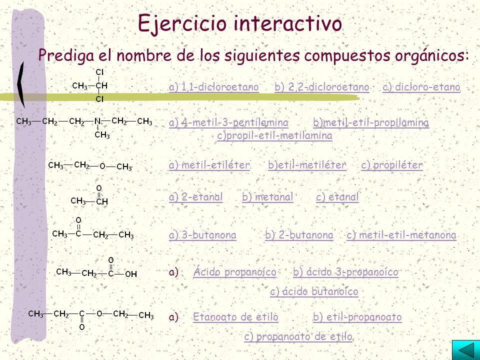 Las aminas derivan del amoniaco (NH 3 ), por sustitución de uno, dos o los tres hidrógenos por radicales alquilo, por lo que pueden ser aminas primari