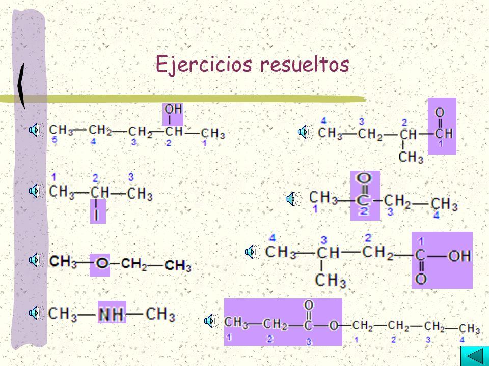 Son compuestos que tienen dos radicales de alquilo ligados con un átomo de oxígeno.