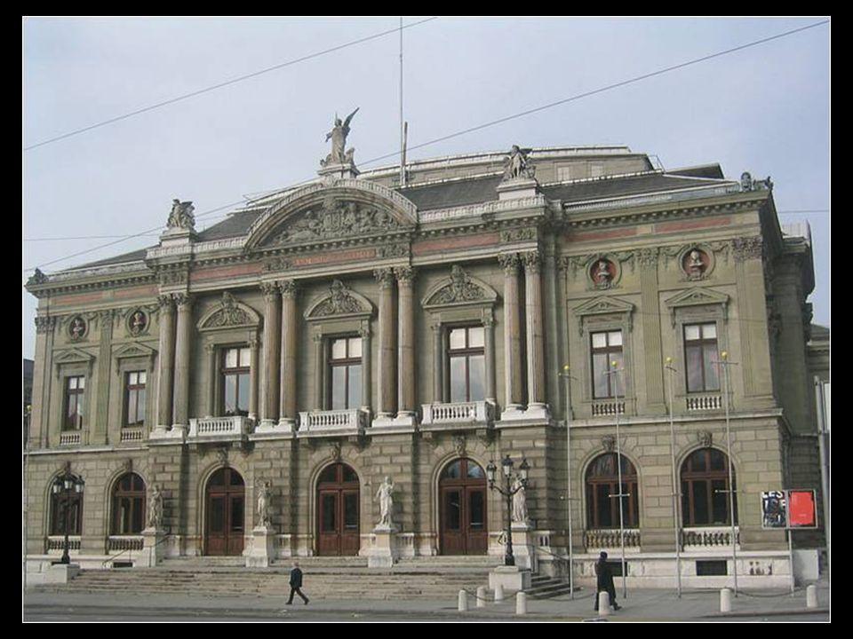 Ginebra es conocida como la Capital Internacional de Suiza o simplemente como Ciudad Internacional gracias a las numerosas organizaciones mundiales qu
