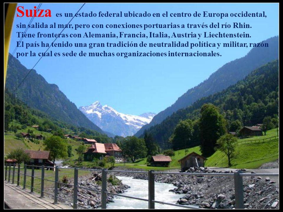 Interlaken en el Oberland bernés es un centro de vacaciones y congresos de renombre internacional y punto de partida ideal para un sinnúmero de excurs