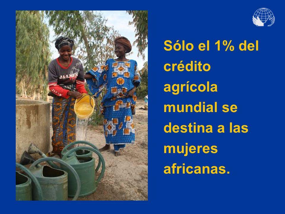 ¿Dónde nace la desigualdad? En la dificultad de la mujer para acceder a los recursos naturales y al cr é dito.