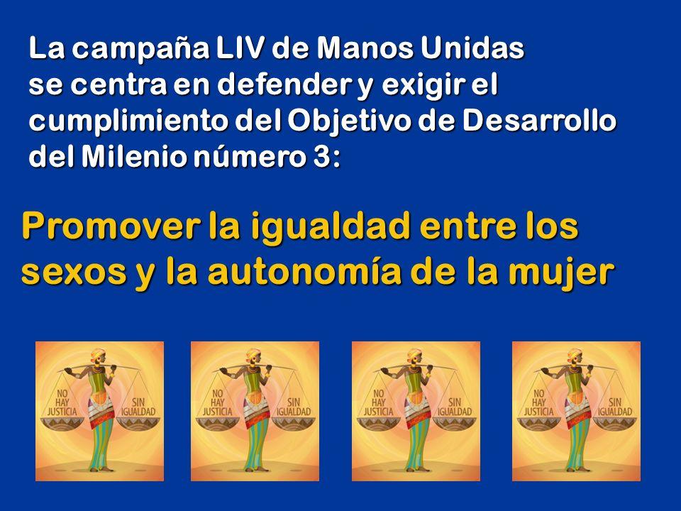 No hay justicia sin igualdad CAMPAÑA LIV - Año 2013