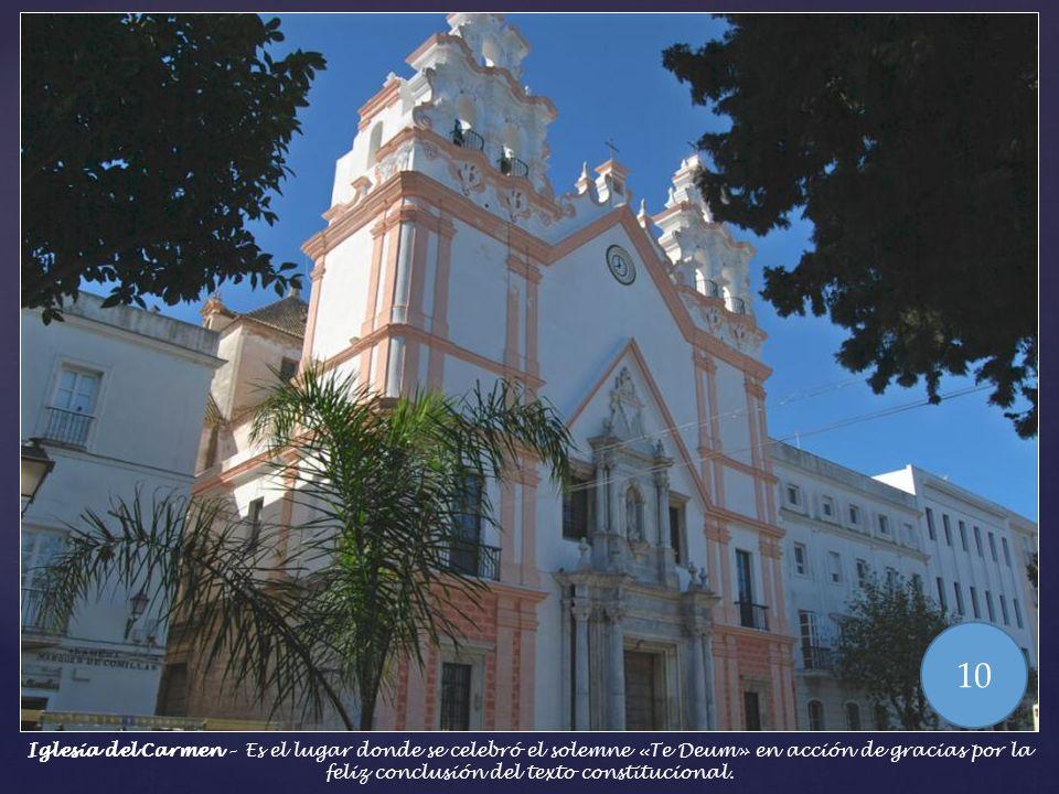 Alameda Apodaca – En esta alameda se sitúan diferentes esculturas conmemorativas tales como al Marqués de Comillas, o Ramón Power Giralt, marino, dipu