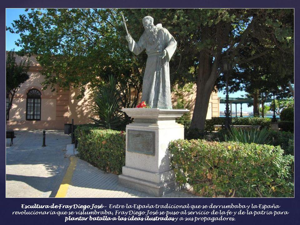 Calle Bendición de Dios - En el lateral de la Iglesia del Carmen se encuentra esta calle donde se situaba la casa del diputado Moreno Montenegro y la