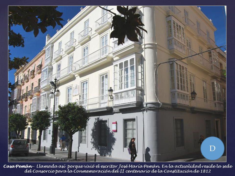 Edificio del Café Apolo, hoy centro oficial de la Junta de Andalucía - Se decía que lo que se discutía en este Café, influía directamente en Las Corte