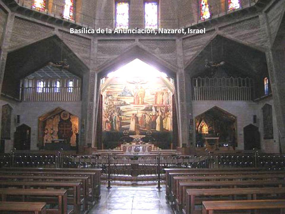 Sábado, 22 de Febrero de 201438 Basílica de la Anunciación, Nazaret, Israel