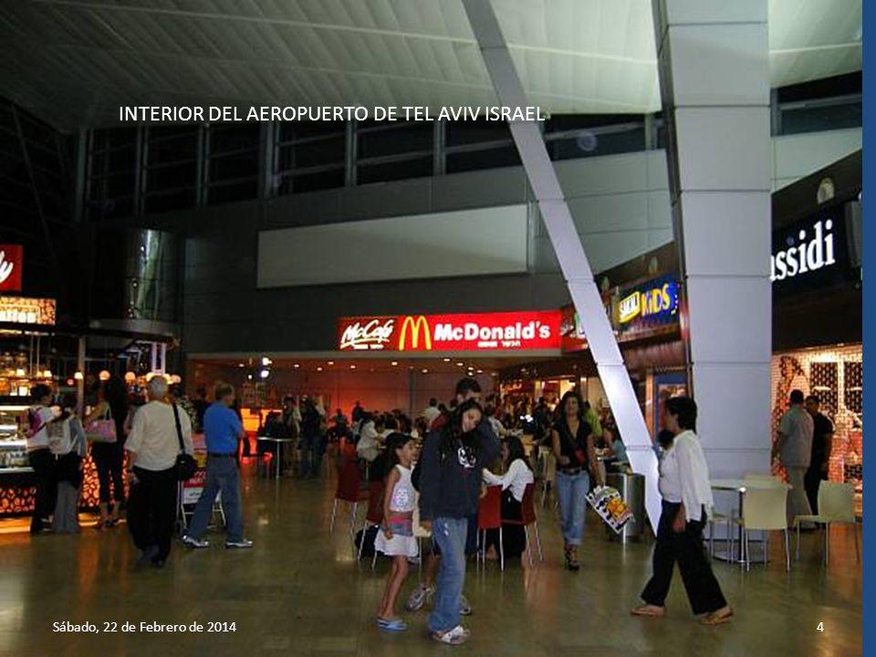 3 Aeropuerto de Tel Aviv Israel Llegada al Aeropuerto de Tel Aviv