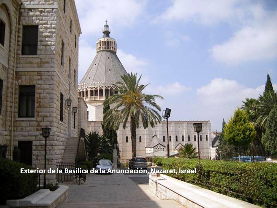 Sábado, 22 de Febrero de 201439 Basílica de la Anunciación, Nazaret, Israel