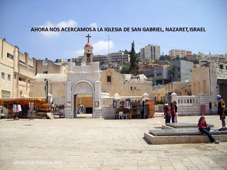 Sábado, 22 de Febrero de 201444 INTERIOR DE LA IGLESIA DE SAN JOSÉ, NAZARET, ISRAEL