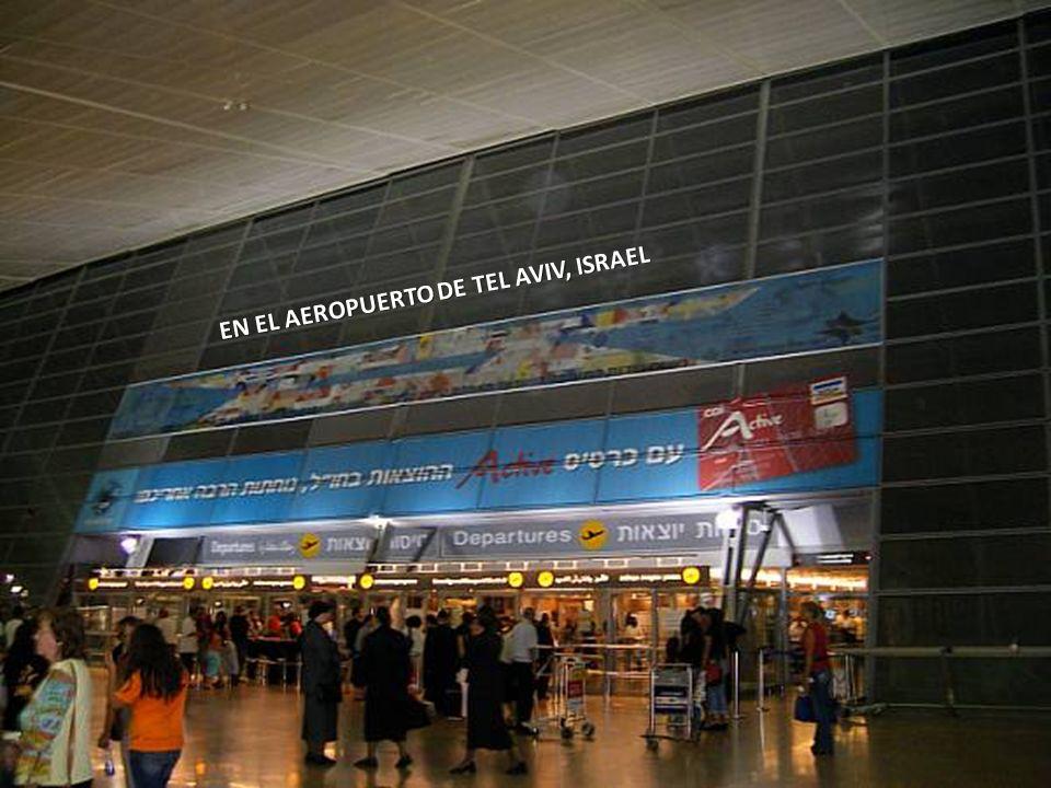 Sábado, 22 de Febrero de 20144 INTERIOR DEL AEROPUERTO DE TEL AVIV ISRAEL