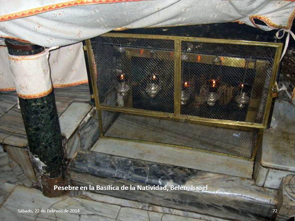 Sábado, 22 de Febrero de 201471 Puerta de la Basílica de la Natividad, Belén, Israel