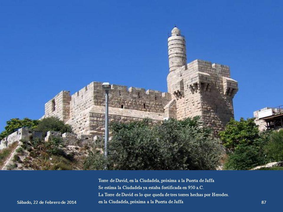 Sábado, 22 de Febrero de 201486 Puerta de Damasco, en la Muralla de Jerusalén, Israel