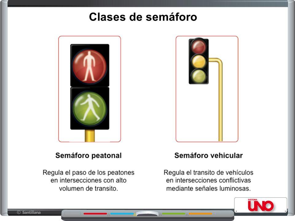 Clases de semáforo