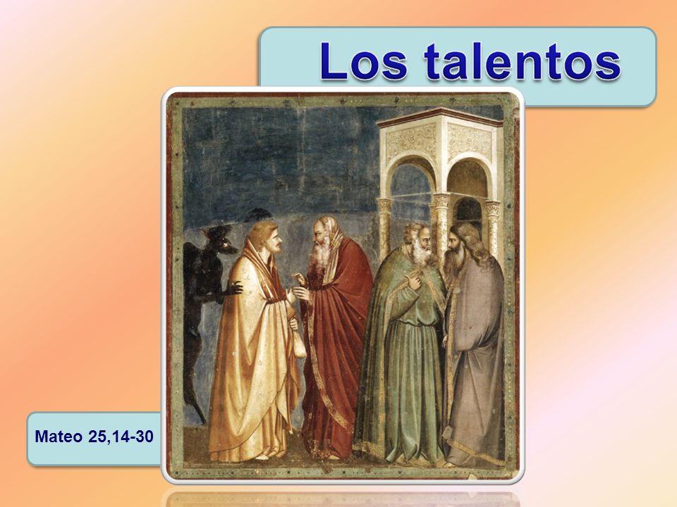 Mateo 25,14-30