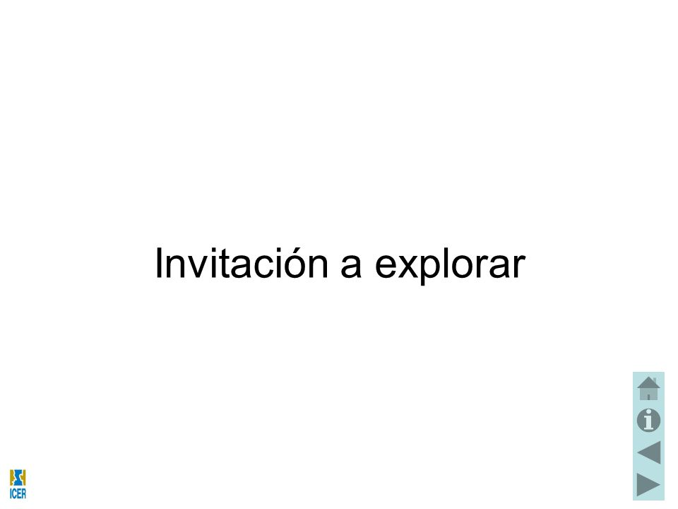 Invitación a explorar