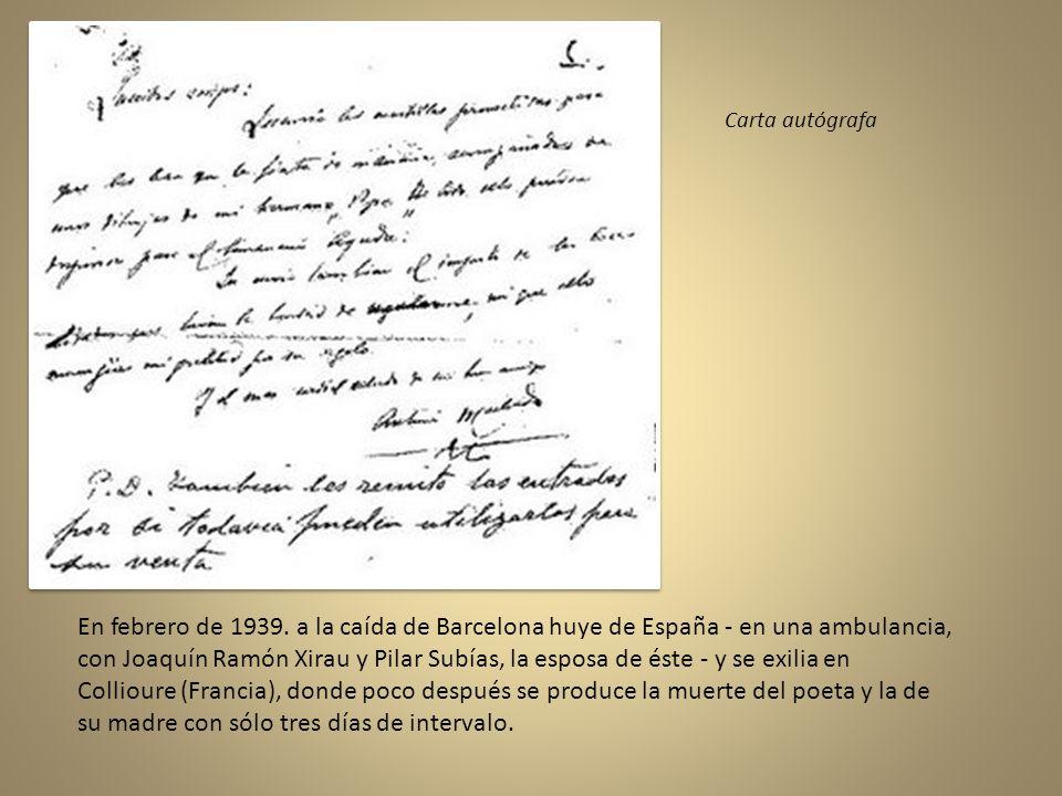 Con el estallido de la Guerra Civil Española marcha a Valencia. En 1937 publica La guerra. Entre 1937 y 1939, Machado publica un total de 26 artículos