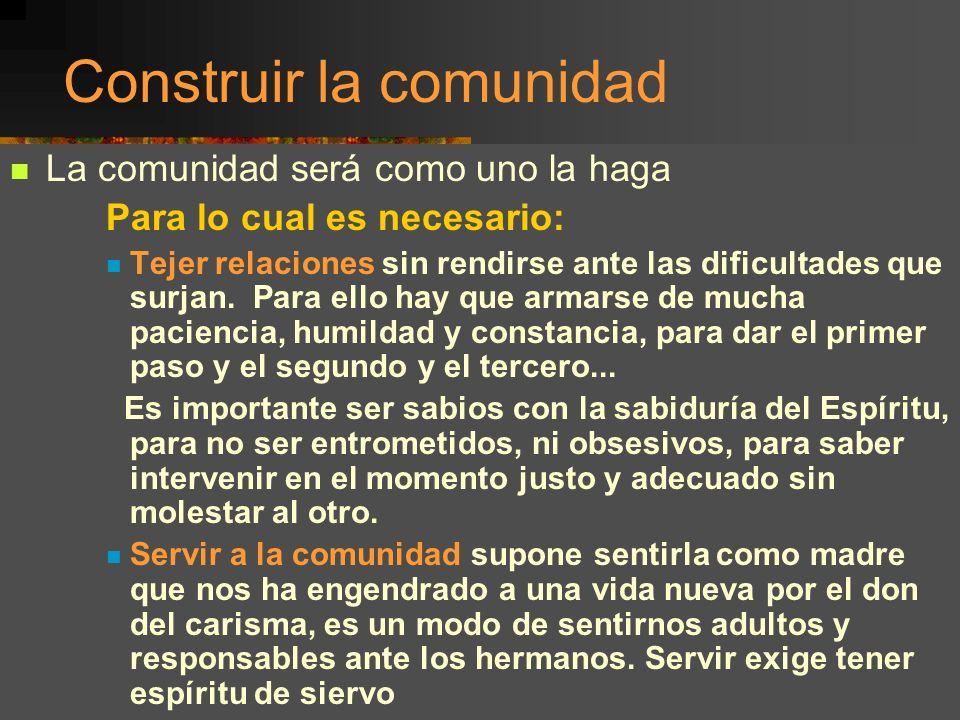 Encuentro Hermanas de Colombia, Bello, junio 2001 12 Exhortar a la comunidad Es un auténtico ministerio, es animar, consolar, entusiasmar a seguir por