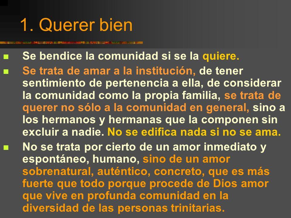 Encuentro Hermanas de Colombia, Bello, junio 2001 7 Bendecir la comunidad En el Talmud se recomienda que no se goce de los bienes de este mundo sin be