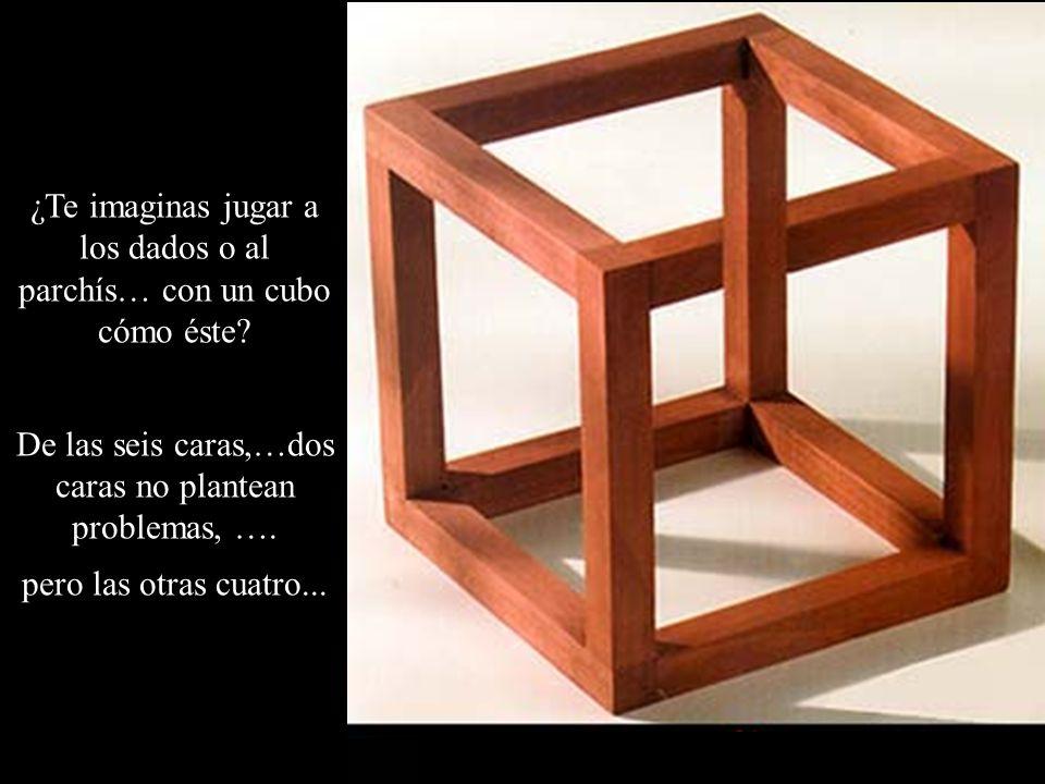 ¿Te imaginas jugar a los dados o al parchís… con un cubo cómo éste? De las seis caras,…dos caras no plantean problemas, …. pero las otras cuatro...