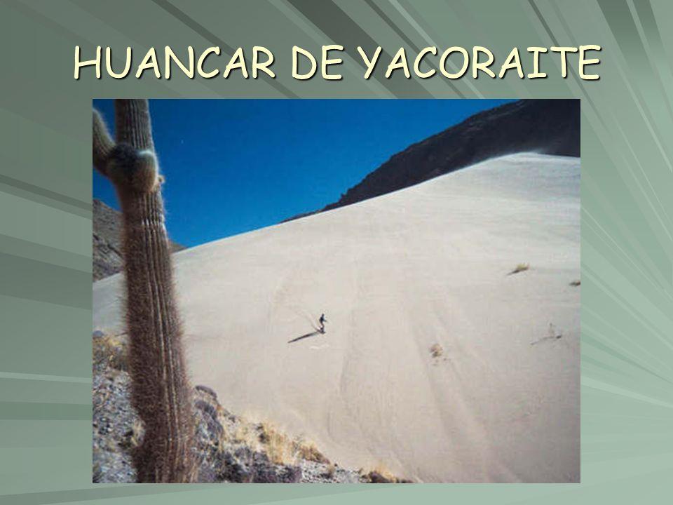 HUANCAR DE YACORAITE