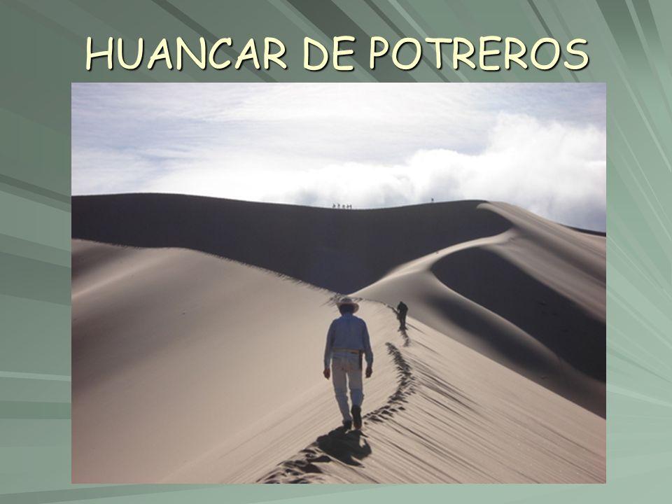 HUANCAR DE POTREROS