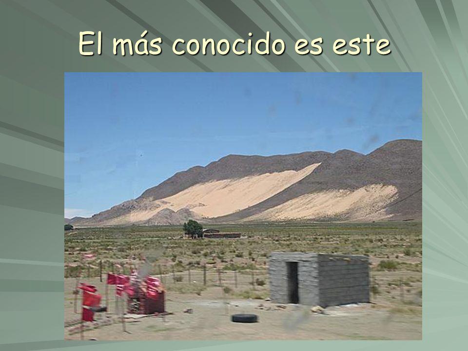 Es el Huancar de Abra Pampa (Jujuy) pero sabias que no es el único.