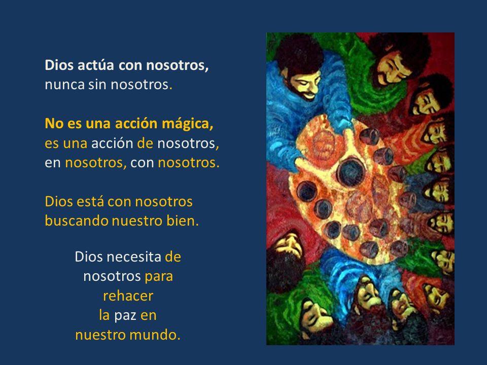 C AMBIO DE ACTITUD : El que tiene que cambiar soy yo. He de trabajar más por la paz, por compartir lo mejor de mí y erradicar el hambre y la injustici