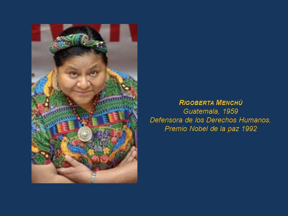 N ELSON M ANDELA Sudáfrica, 1918 Preso de conciencia por 27 años Premio Nobel de la paz 1993 Presidente de Sudáfrica 1994-1999