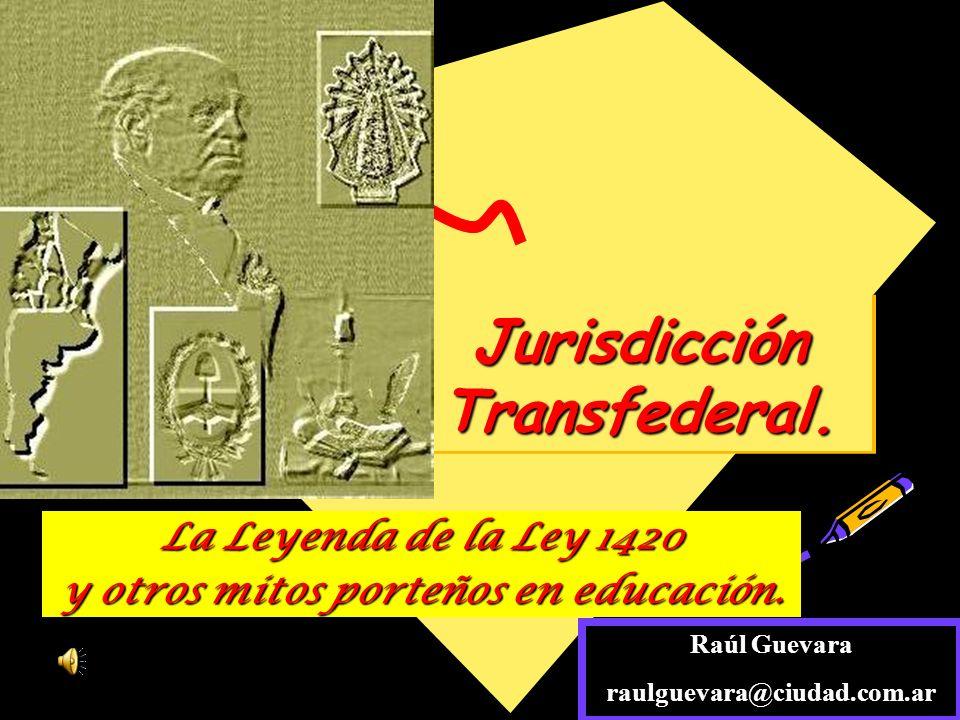1420 y la ley federal de: