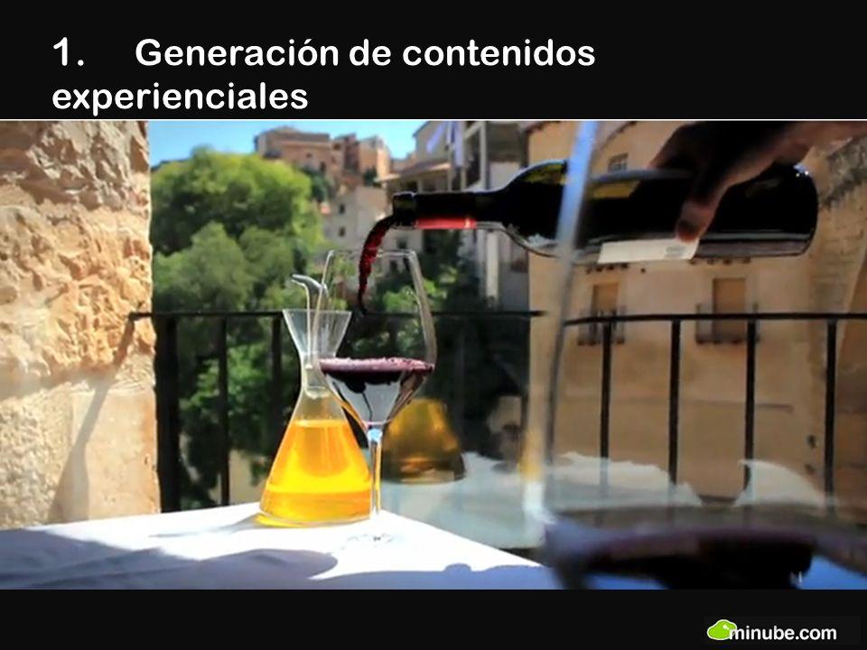 1. Generación de contenidos experienciales