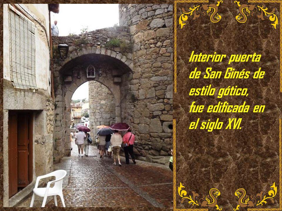 La Muralla completa. Miranda del Castañar es de los pocos pueblos que conserva toda su muralla intacta y completa (con sus 4 puertas orientadas a los