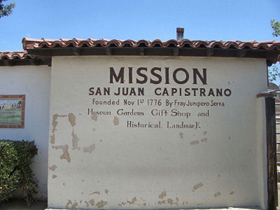 La missione di San Juan de Capistrano es una antigua iglesia-monasterio cargada de historia y belleza escénica. 2005 - Manuel Zerla