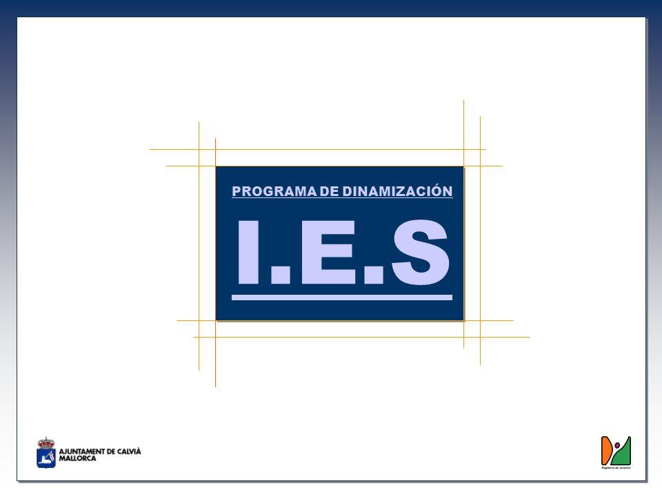 PROGRAMA DE DINAMIZACIÓN I.E.S