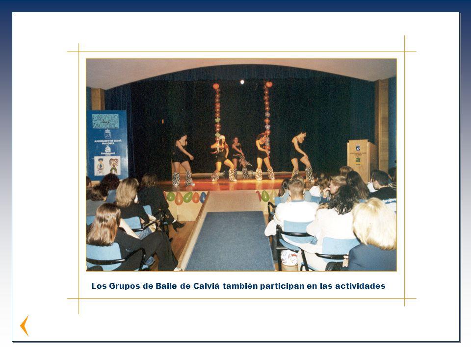 Los Grupos de Baile de Calvià también participan en las actividades