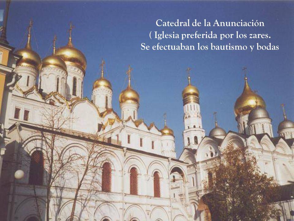 Catedral del Arcángel Miguel - 1508 (Iglesia donde sepultaban los zares)