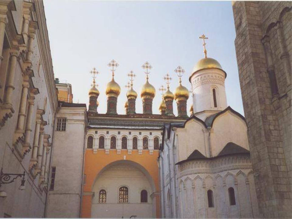 Catedral de la Anunciación ( Iglesia preferida por los zares. Se efectuaban los bautismo y bodas