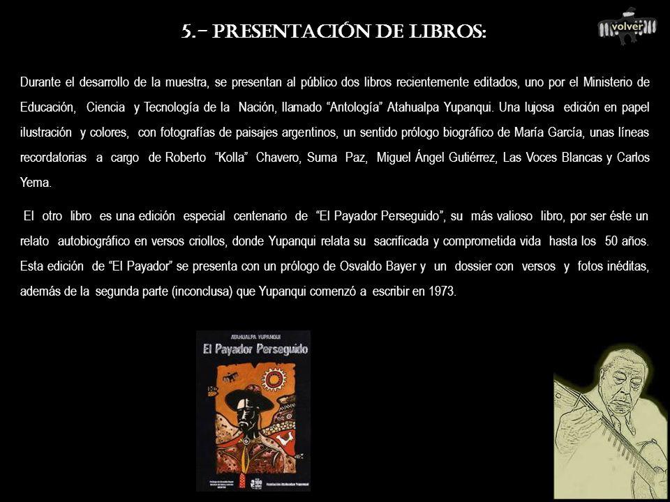 4.- PROYECCIONES DOCUMENTALES : Proyección de dos documentales producidos y dirigidos por la F.A.Y.. El Legado, un rico material fílmico de 150, cuida