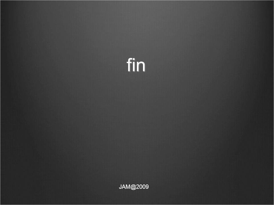 fin JAM@2009