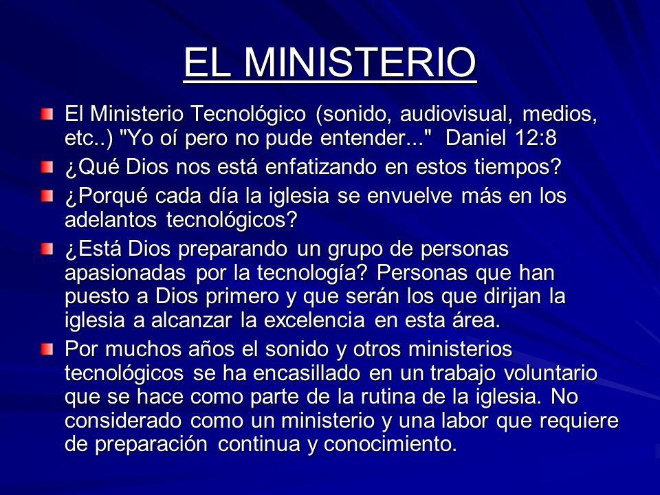 El ministerio técnico Tech Team es tan espiritual como el pastoreado, la adoración o cualquier otro ministerio.
