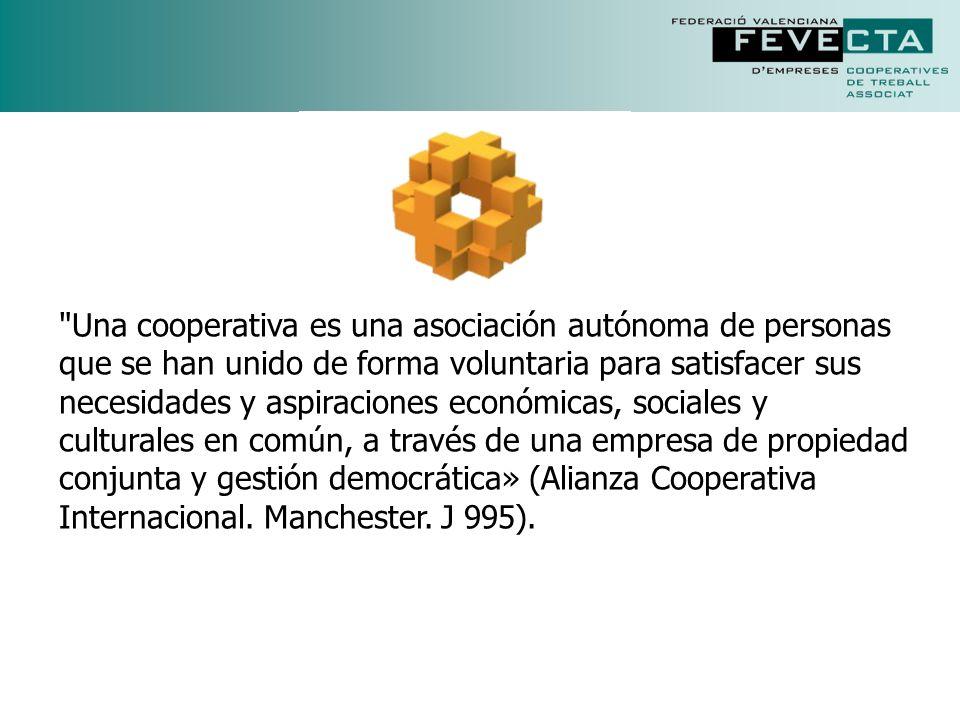Se calcula que alrededor de un 17% de la población mundial es miembro de algún tipo de cooperativa.