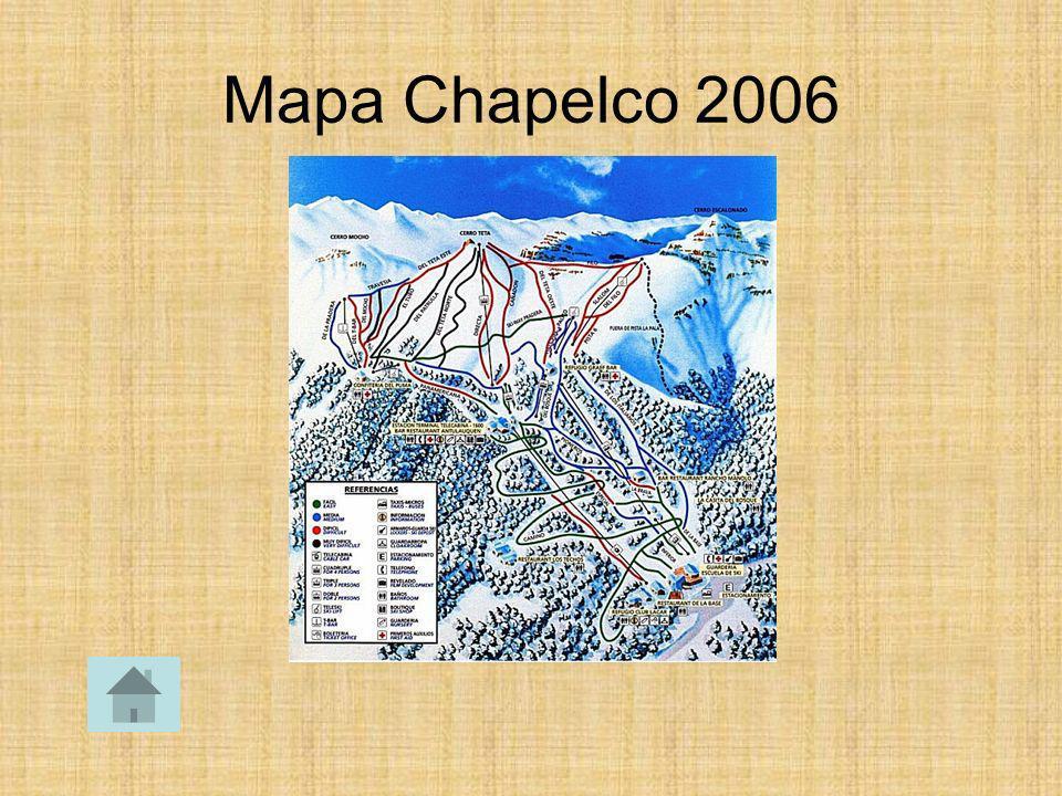 Mapa Chapelco 2006