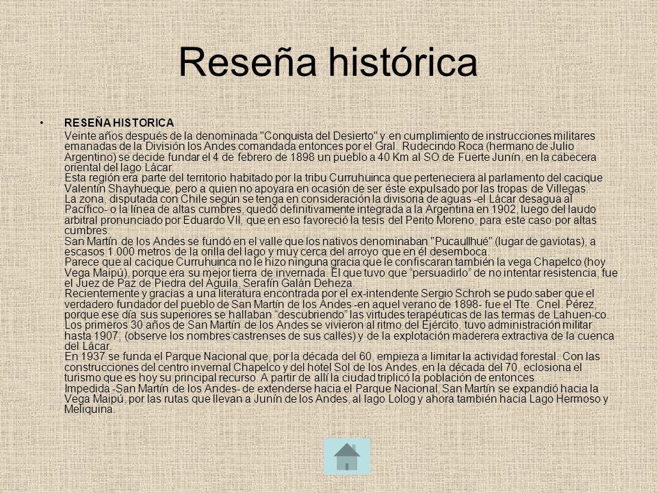 Reseña histórica RESEÑA HISTORICA Veinte años después de la denominada
