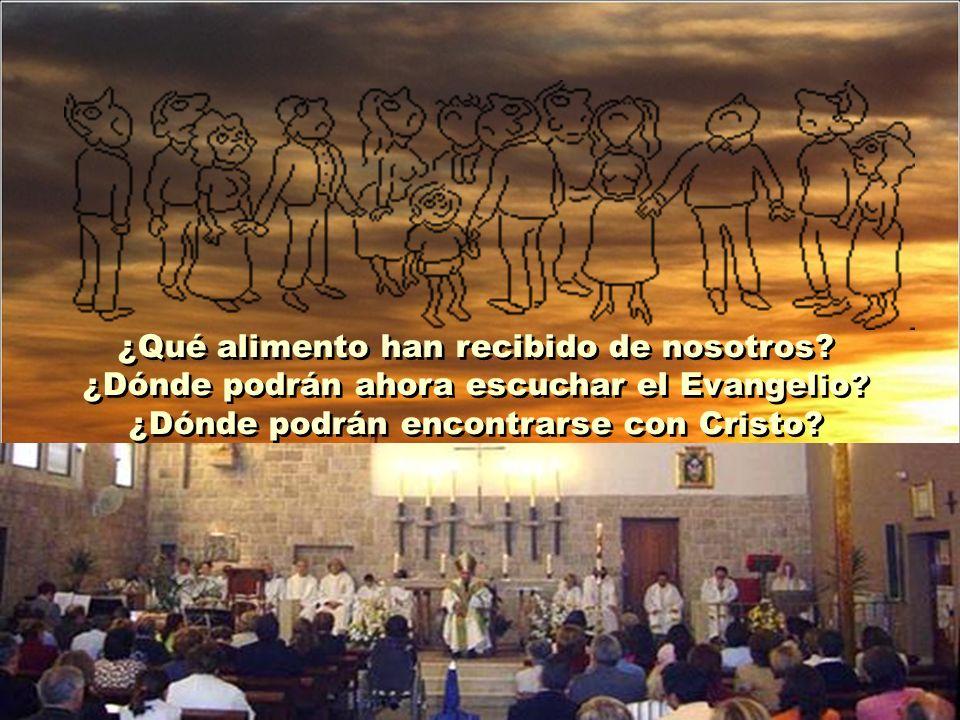 Muchos de los que se van eran cristianos sencillos, acostumbrados a cumplir por costumbre sus deberes religiosos. La religión que habían recibido se h