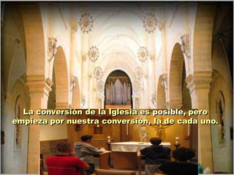 Benedicto XVI viene insistiendo en que el mayor peligro para la Iglesia no viene de fuera, sino que está dentro de ella misma, en su pecado e infideli