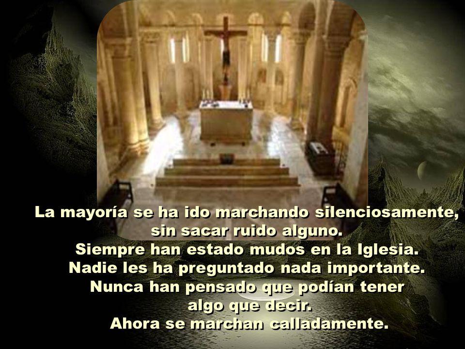 ¿No hemos de escuchar en el interior de la Iglesia una llamada a la conversión? ¿No hemos de escuchar en el interior de la Iglesia una llamada a la co